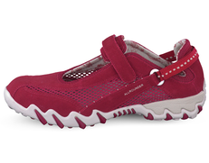 Allrounder by Mephisto Niro Suede Red/Red