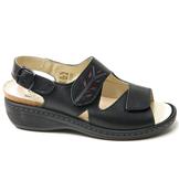 Charlotte of Sweden sandal i skinn
