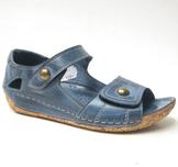 Charlotte of Sweden sandalsko i skinn jeans